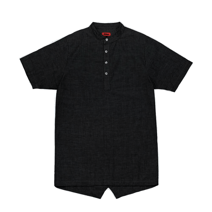Hensworth Fishtail Top - Black (08.06.20 Release)