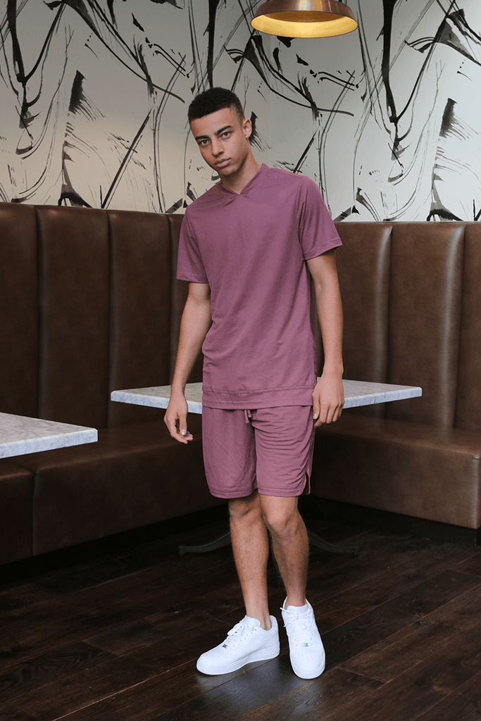 All-Court Lounge Top - Plum