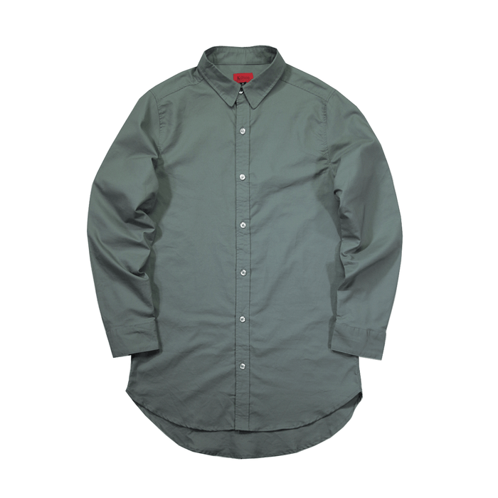 Oxford Button Down - Washed Olive