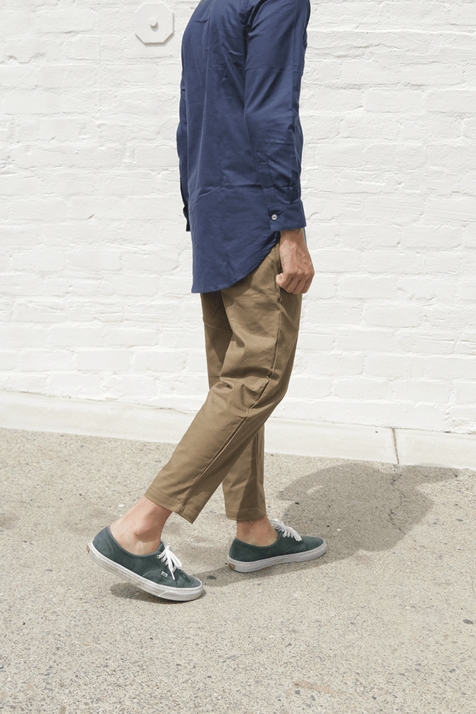 SI Twill Cropped Pant - Olive