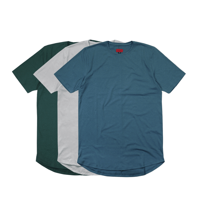 3-Pack SI-12 Essential - Clay Grey/Forest Green/Teal