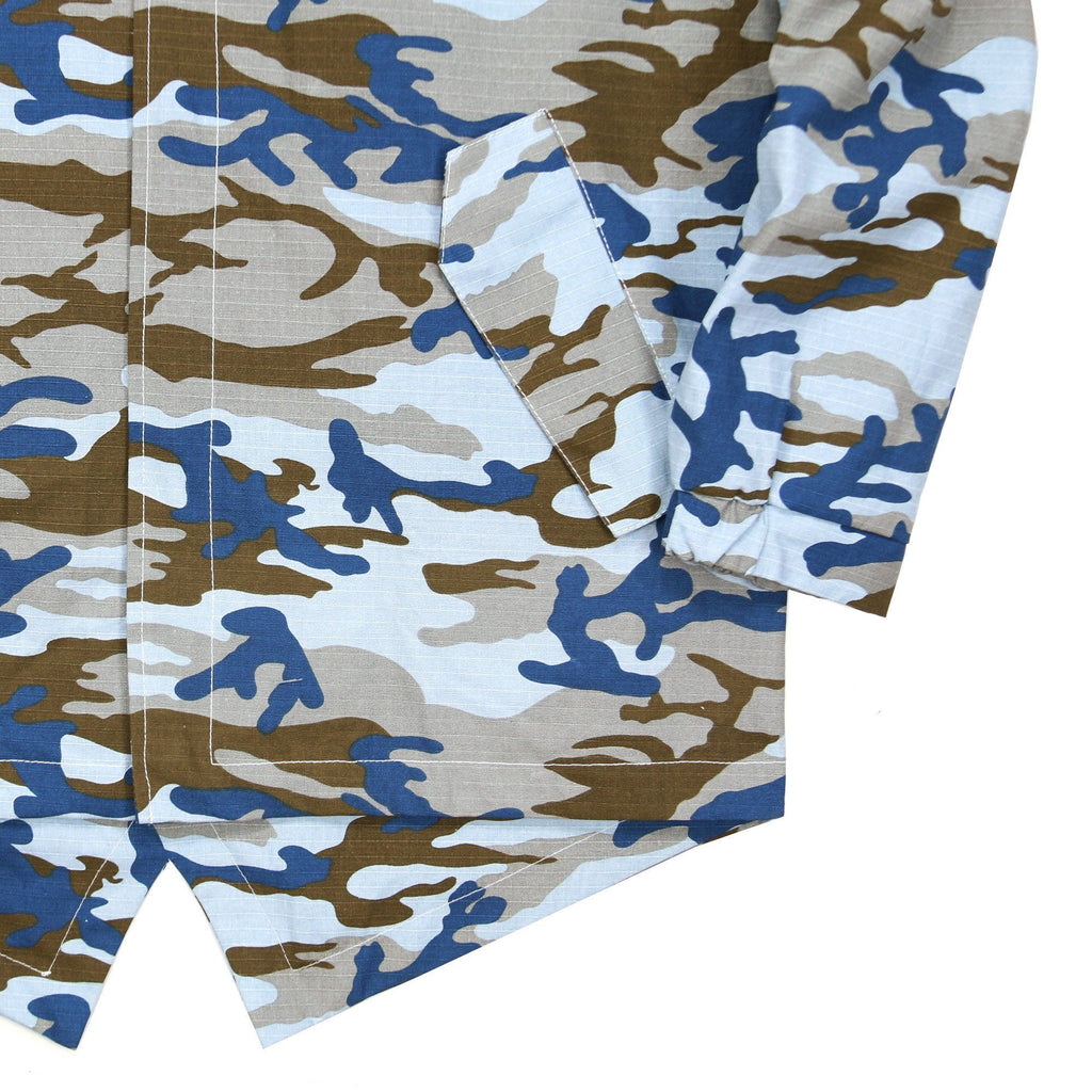 Ripstop Camo Fishtail - Blue