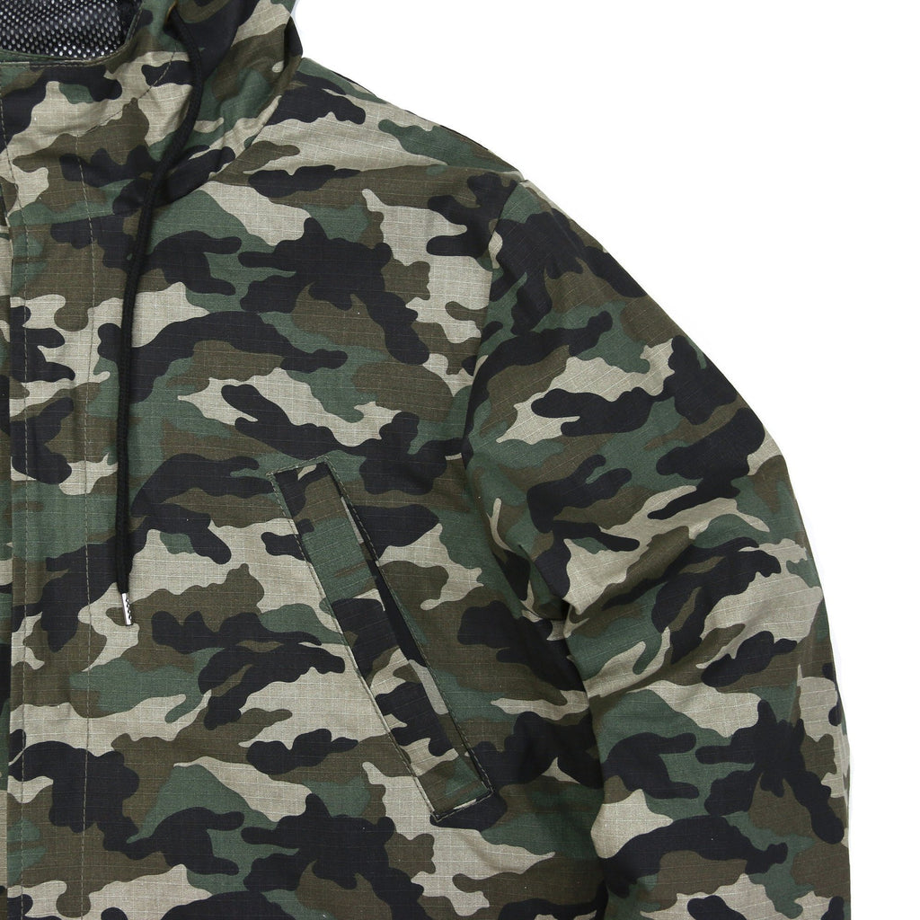 Ripstop Camo Fishtail - Woodland