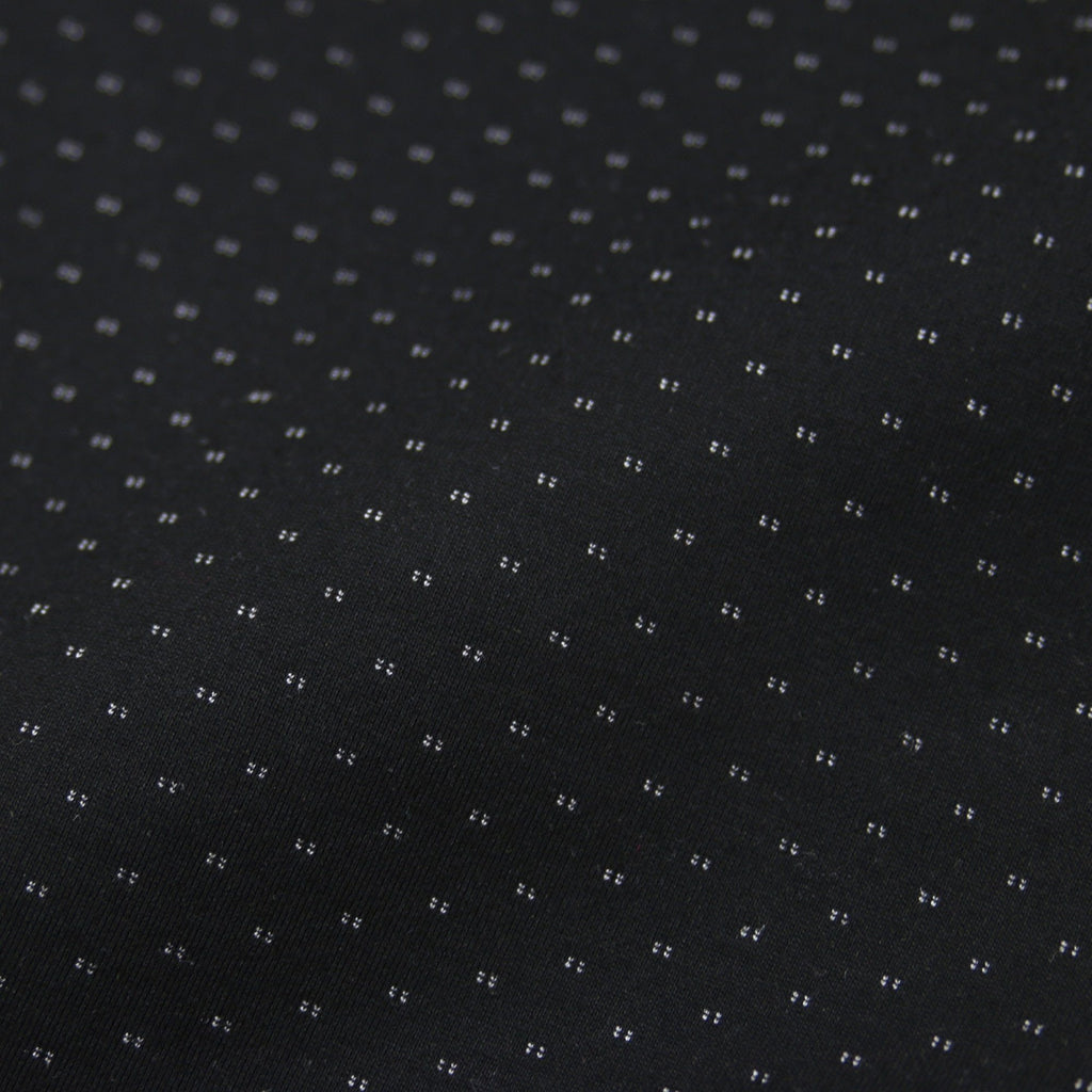 Dotted Tech Shorts - Black