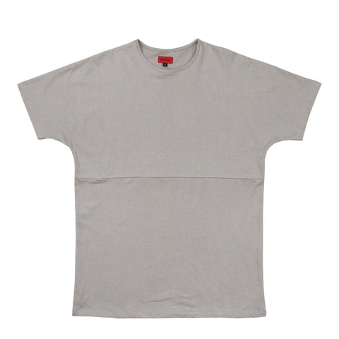 Slub Washed Box Tee - Stone