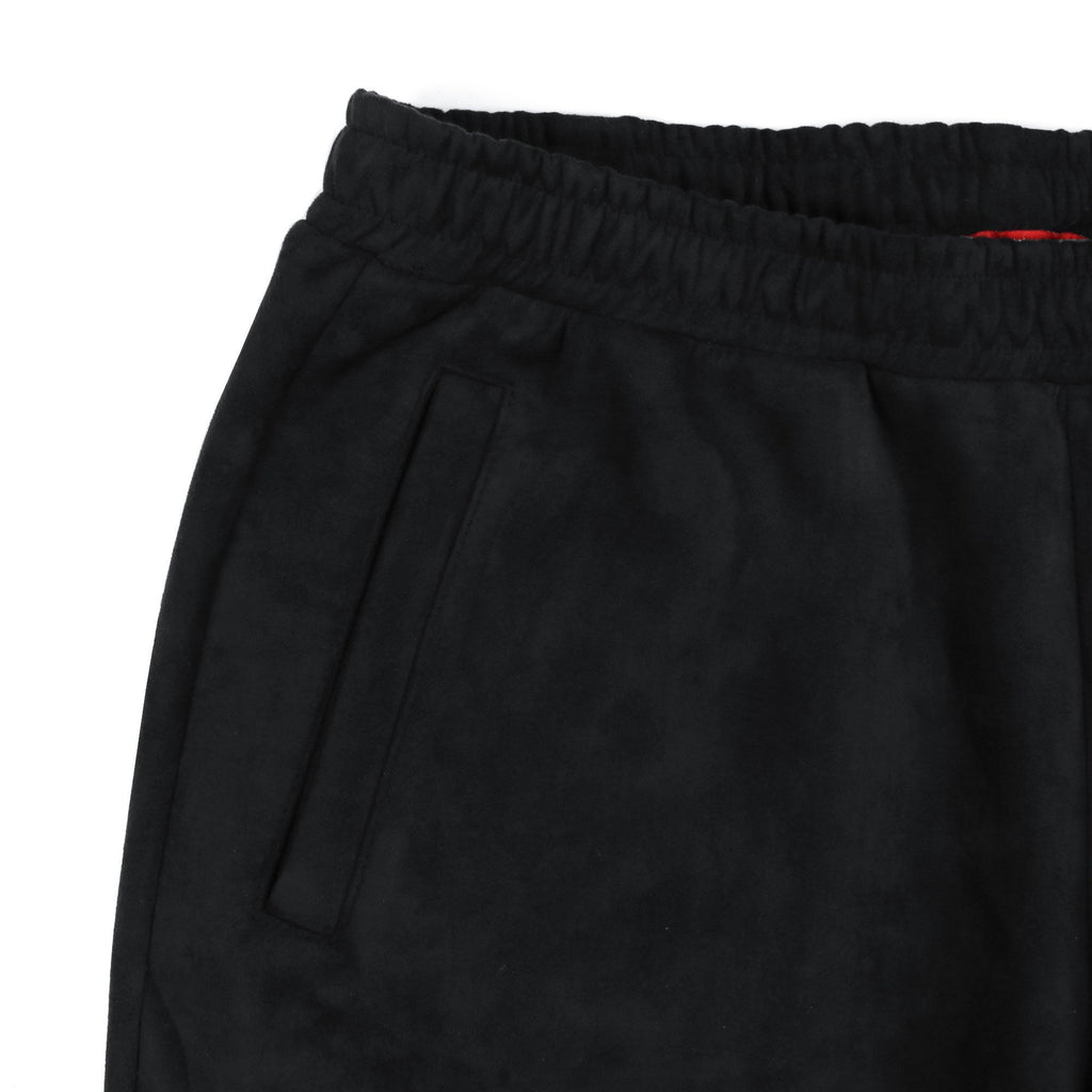 Suede Butter Shorts - Black