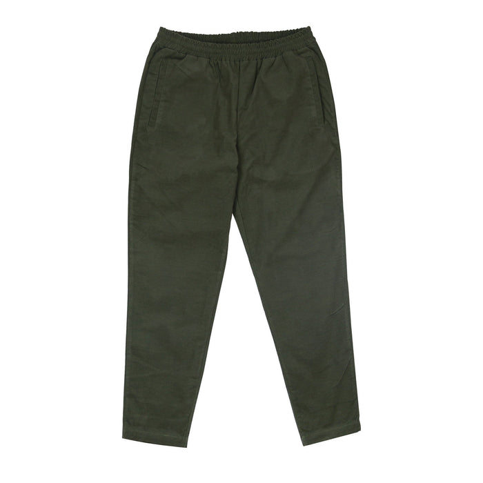 Vel Cutoff Trouser - Olive