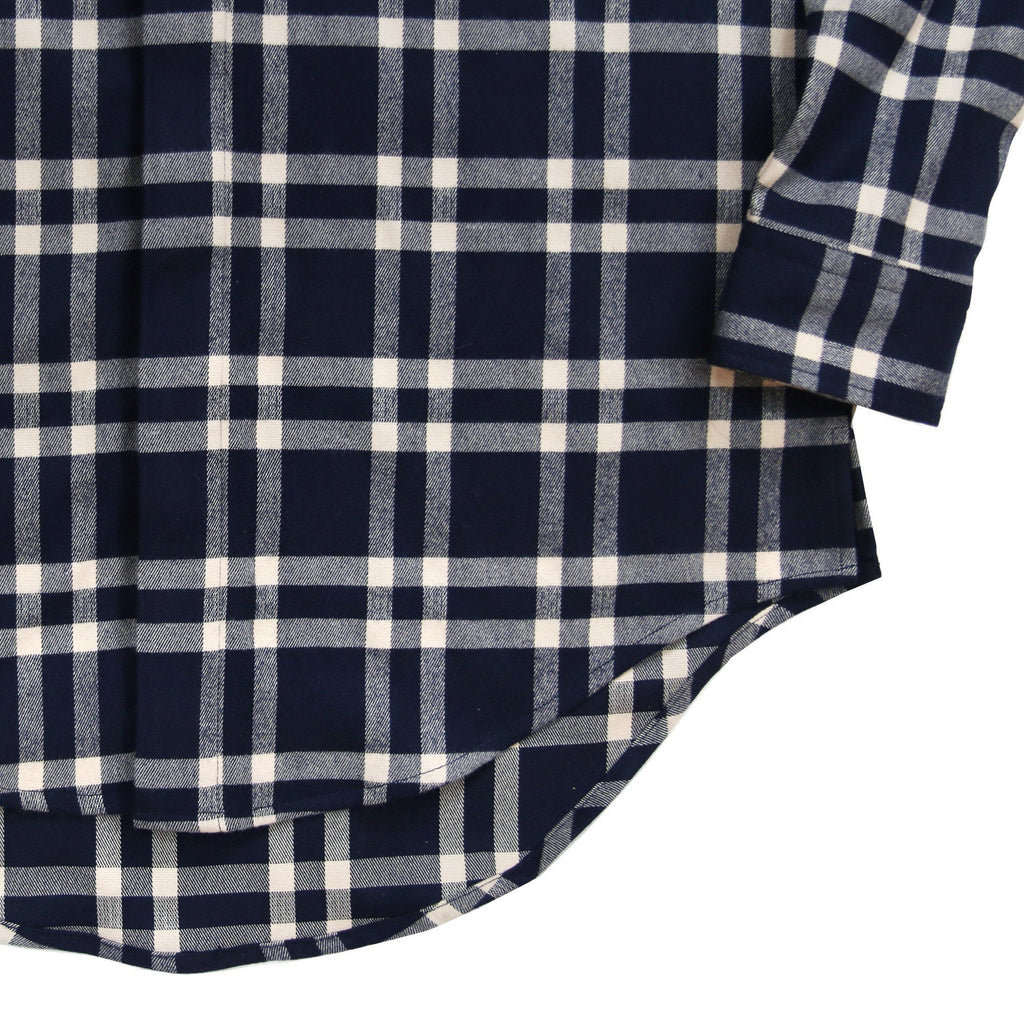 Essex Flannel Buttonup - Navy