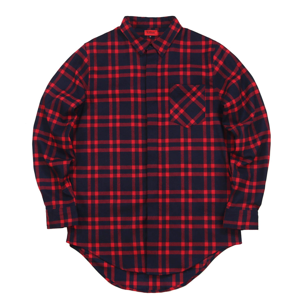 Essex Flannel Buttonup - Red