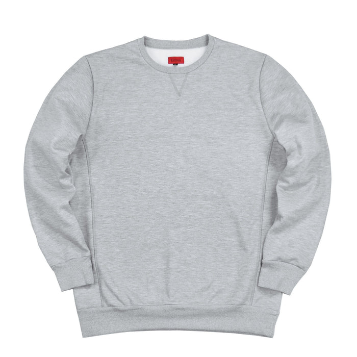 Heavy AM Crewneck - Grey