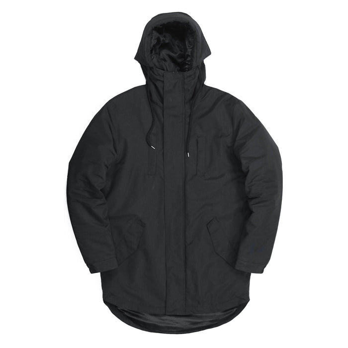 Explorer Padded Parka - Black