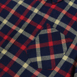 Plancheck Flannel LS Buttonup - (Navy/Red/Yellow)