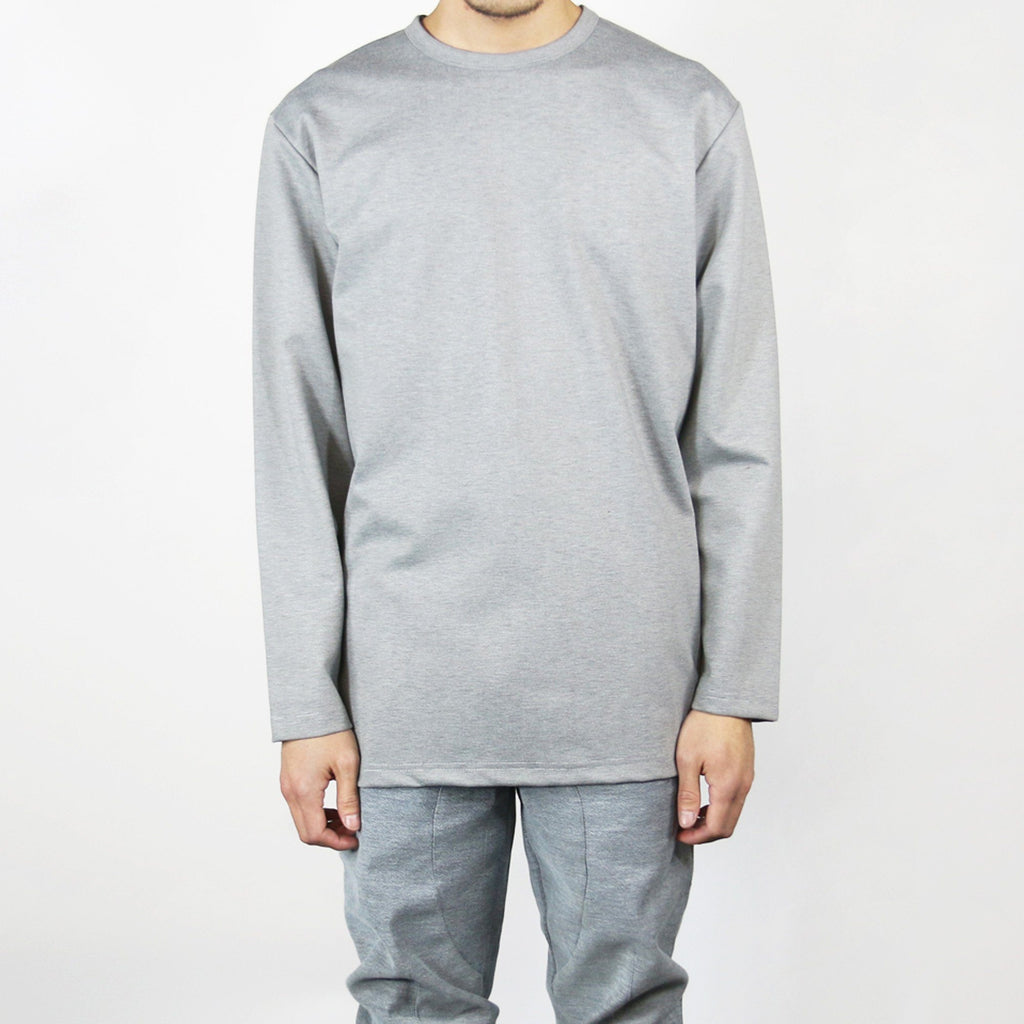 Modern LS Top - Grey