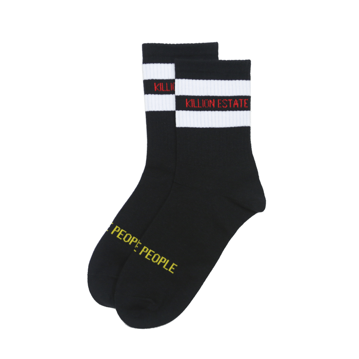 Estate Crew Sock - Black