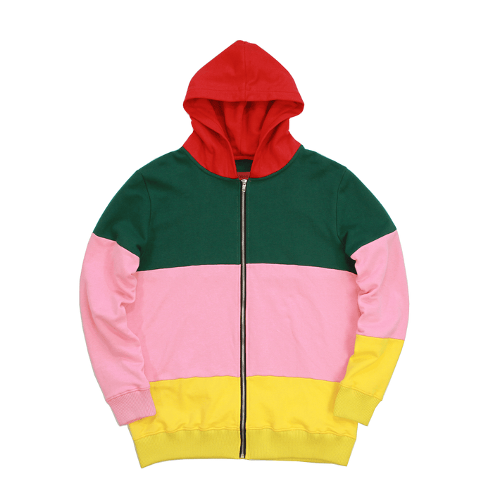 Coloured Block Hoodie - Multi