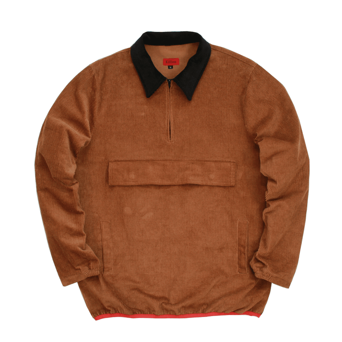 Corduroy Pullover Jacket - Brown (11.05.20 Release)