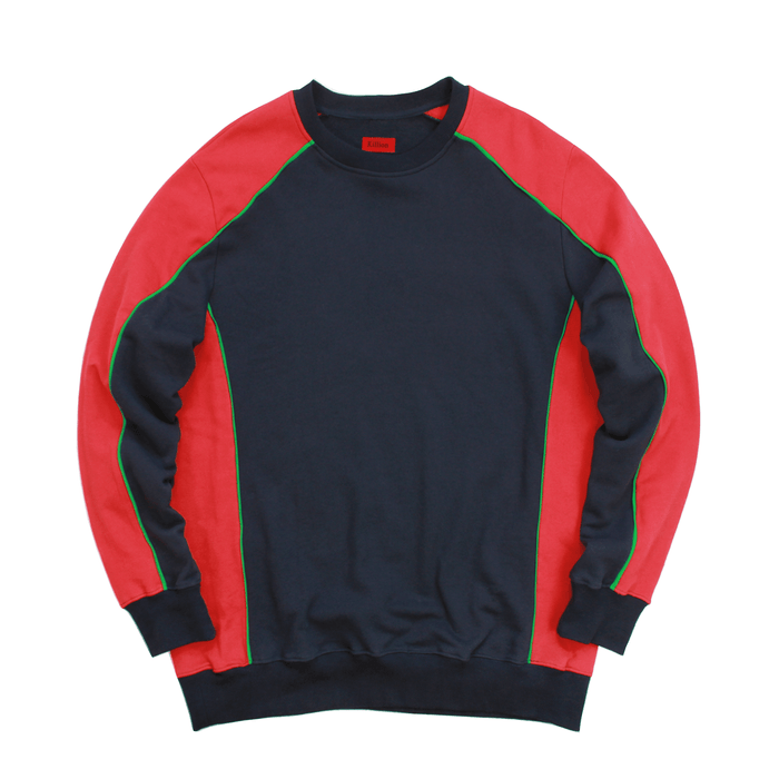 Piped Crewneck