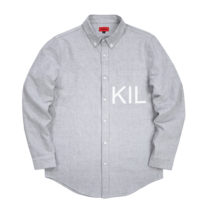 KIL Oxford Button Down - Grey