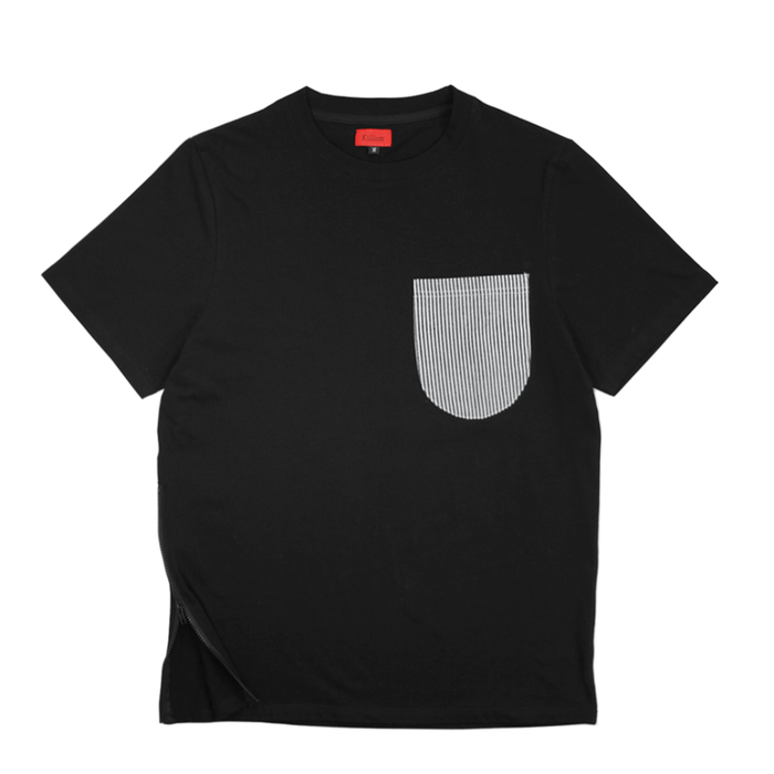 Railroad Pocket Tee - Black