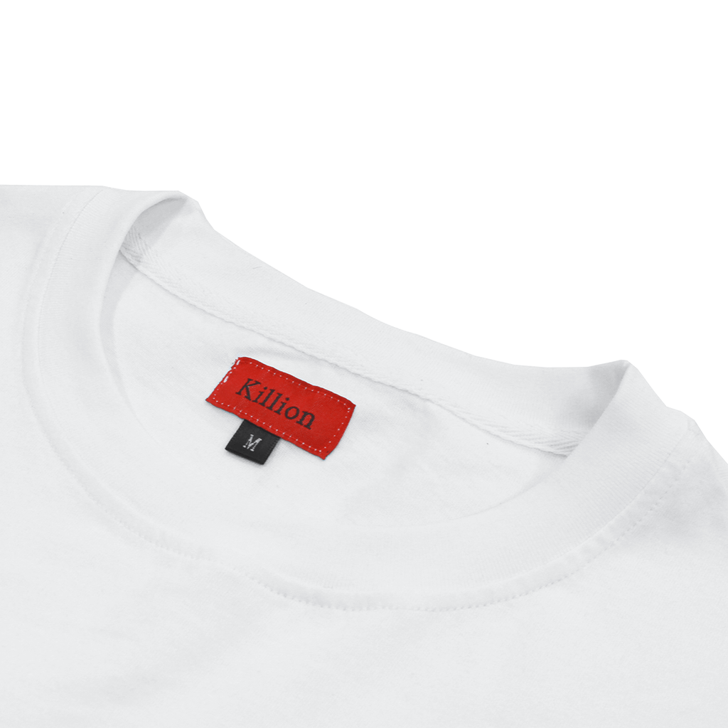 Railroad Pocket Tee - White