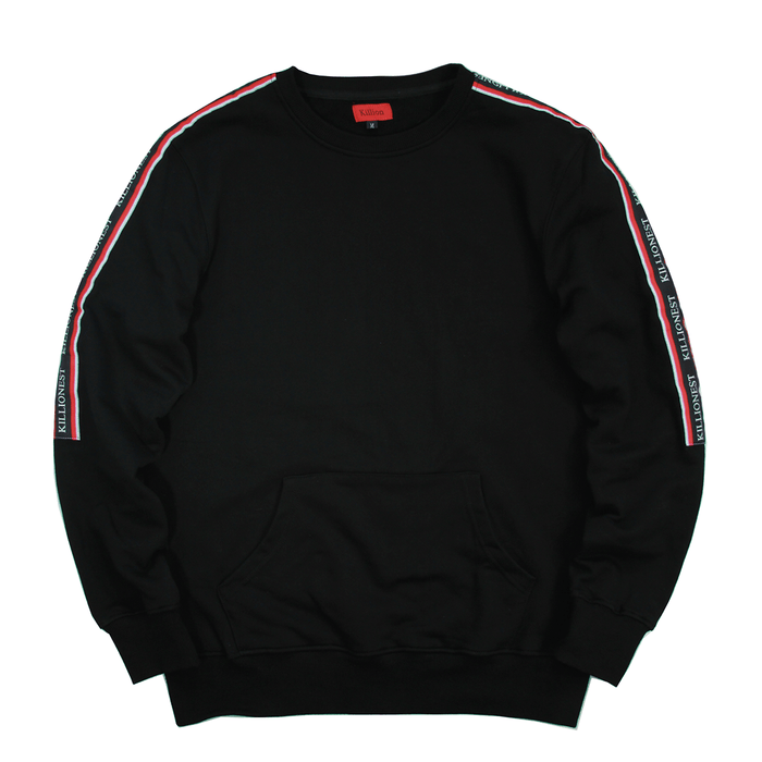 Ribbon Crewneck - Black