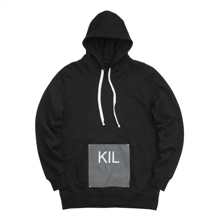 Cover Up Hoodie - Black