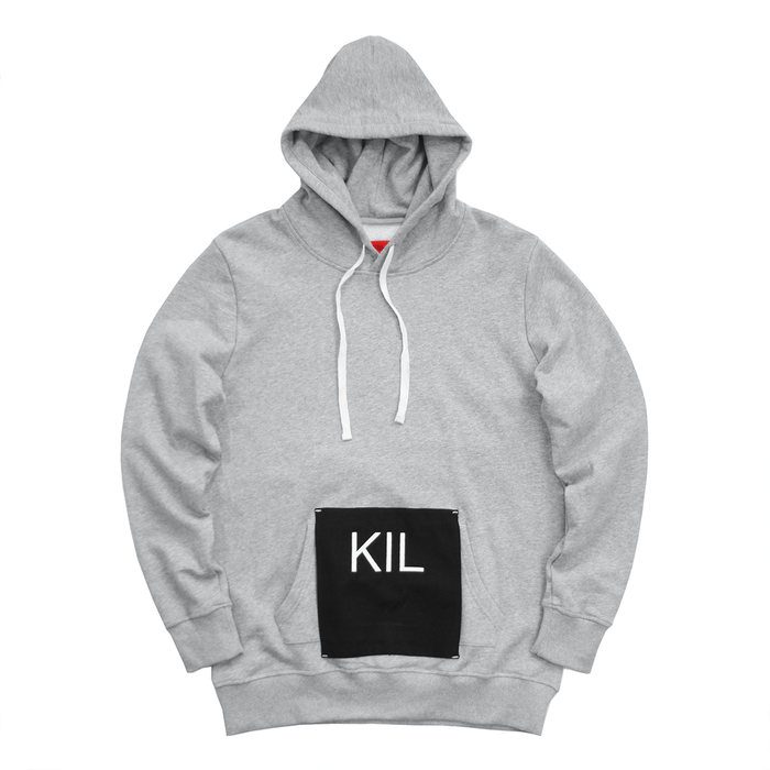 Cover Up Hoodie - Heather Grey