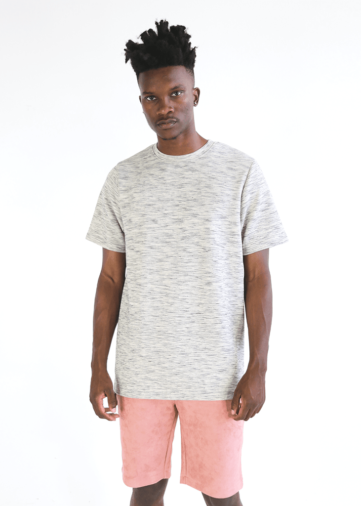 Slub Boxy Tee - Natural