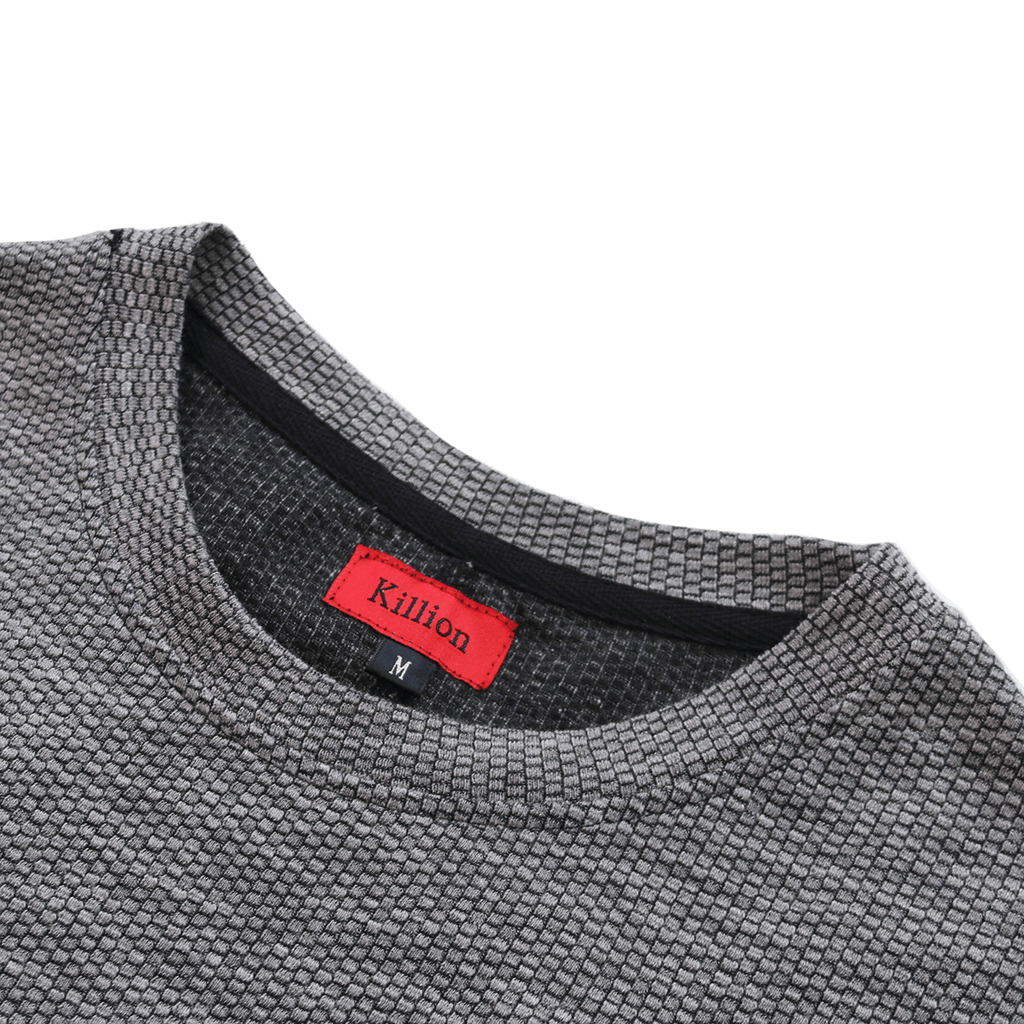 Off Grid Scallop Tee - Grey