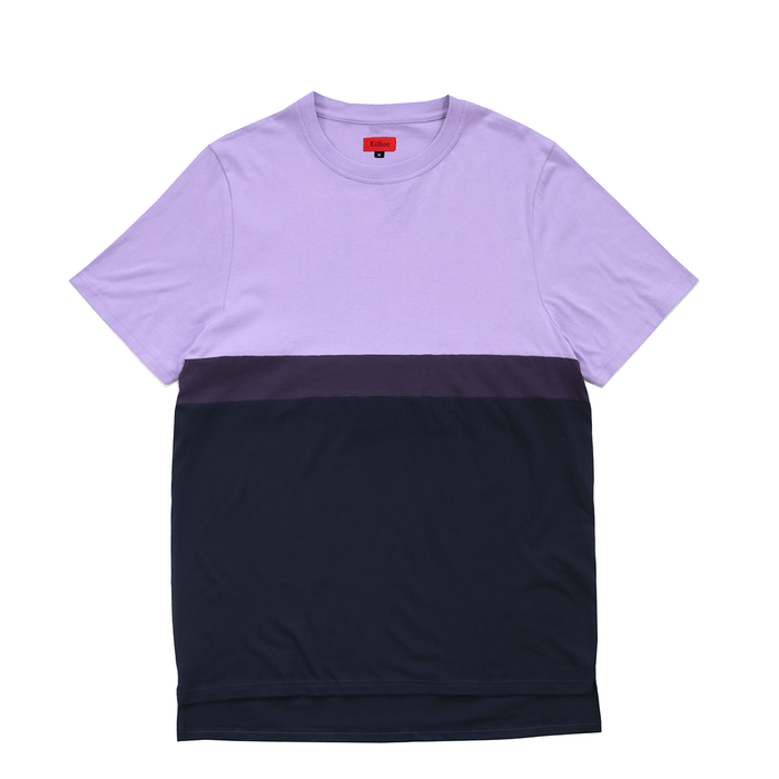 Single Stripe Tee - Lavender