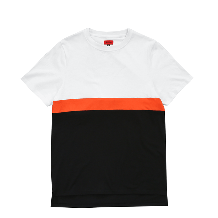 Single Stripe Tee - White