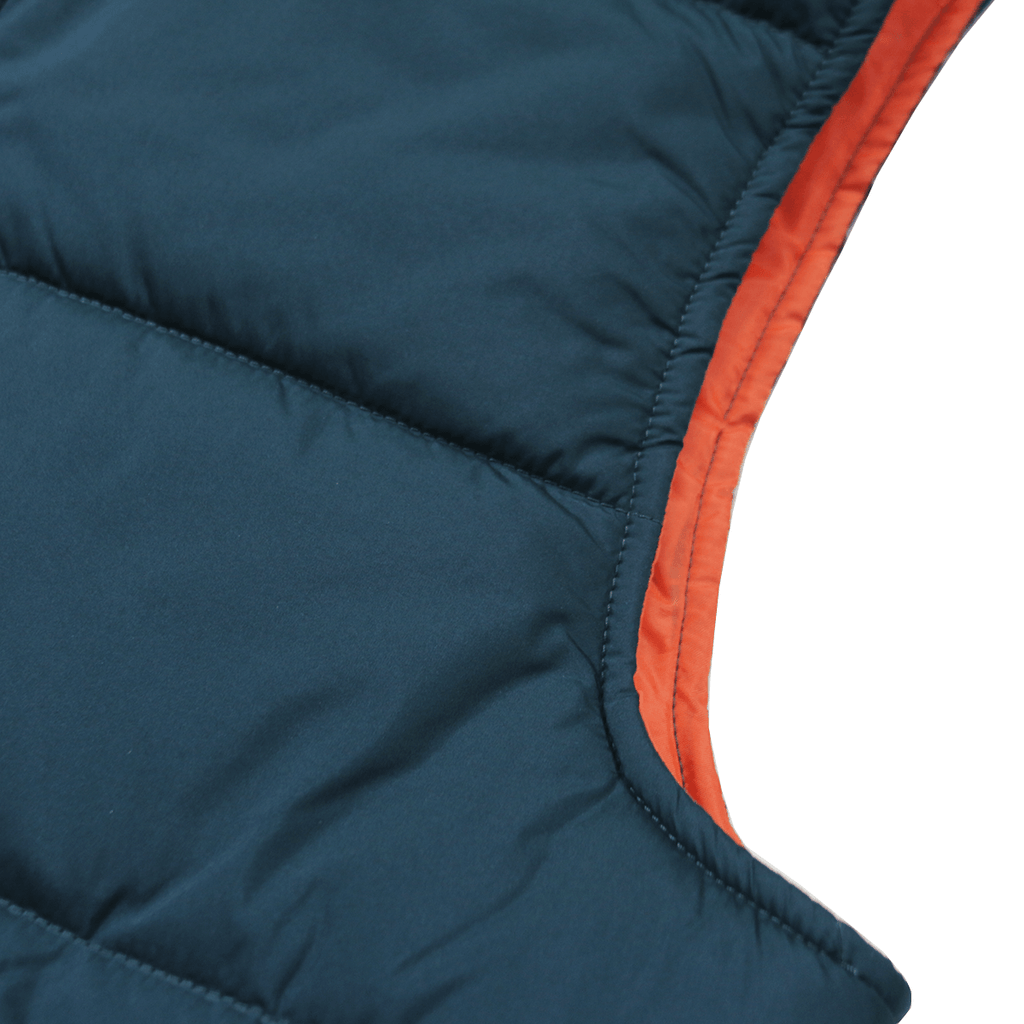 Lando Hooded Vest - Teal