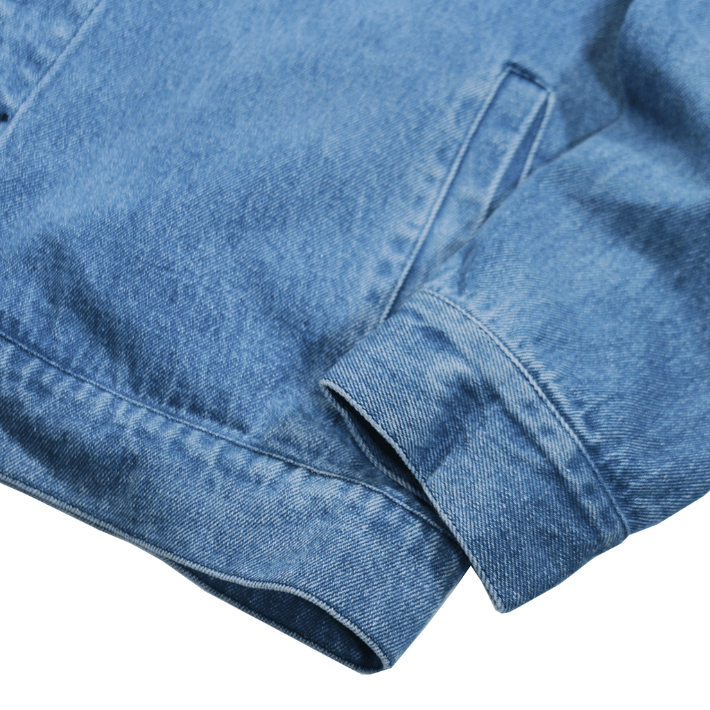 Maxon Corduroy Collar Denim Jacket - Medium Blue (09.10.20 Release)