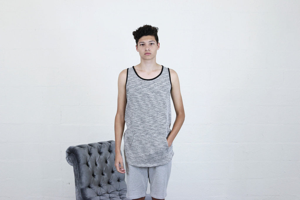 Mercer Tank Top - Grey