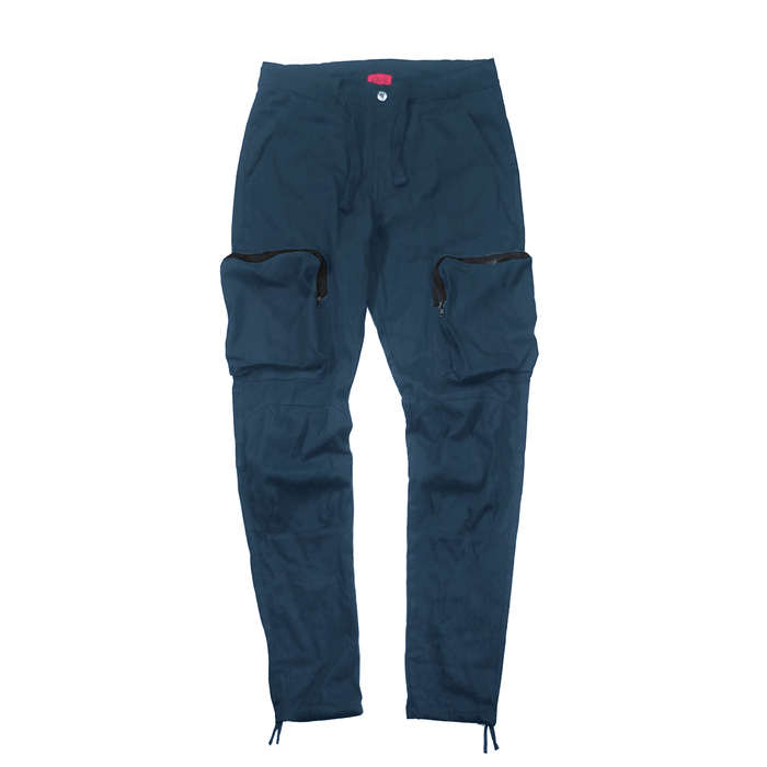 Cargo Twill Trekker Pant - Washed Navy (12.03.20 Release)