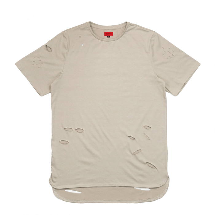 Distressed Essential Shirt - Sand