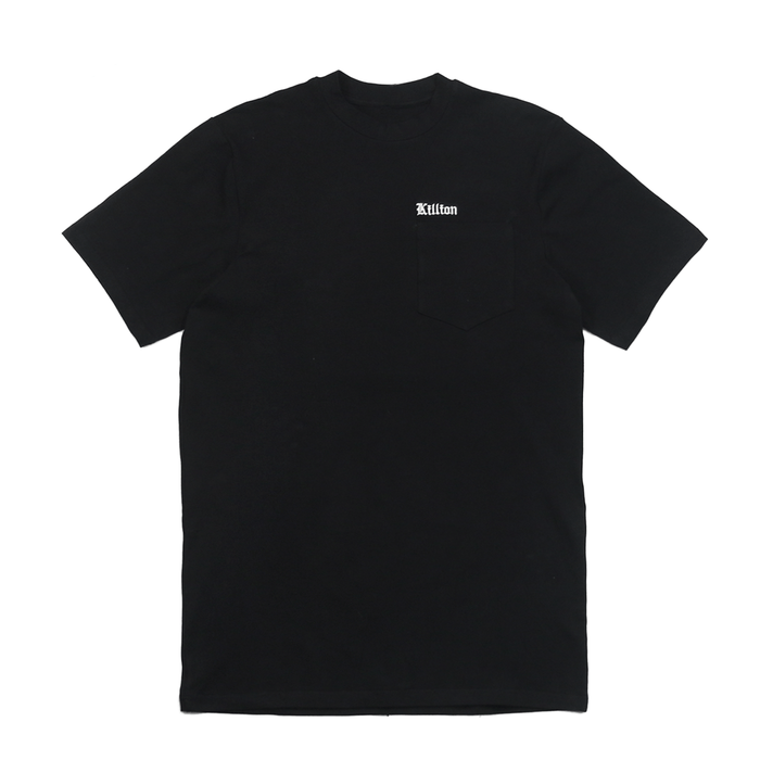 Embroidered Pocket Shirt - Black