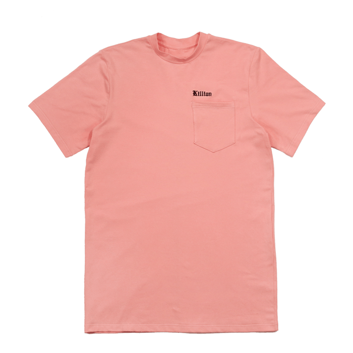 Embroidered Pocket Shirt - Peach