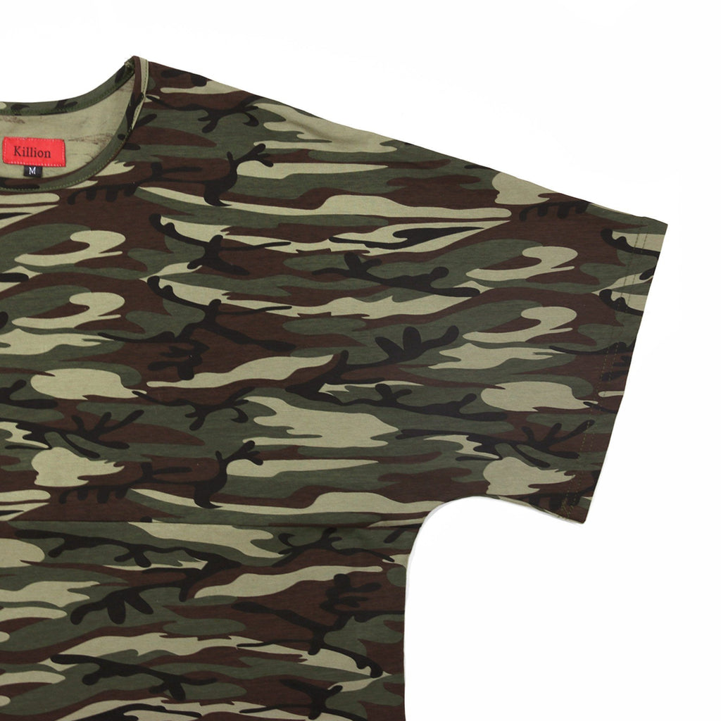 Camo SS Dropped Shoulder