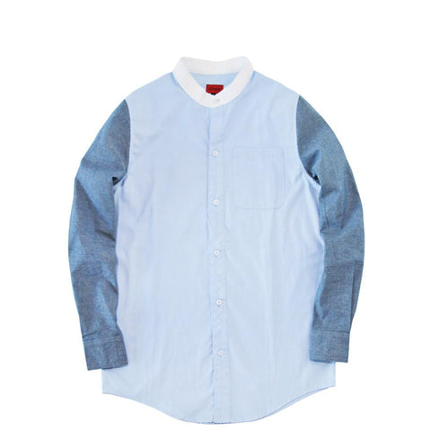 Genoa Buttonup L/S Shirt - Shades of Blue
