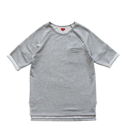 Lounger Fleece Sweater - Heather Grey (preorder - archive)
