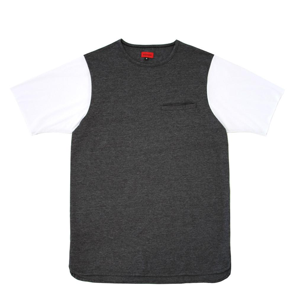 Basic Essential Shirt - Charcoal/White