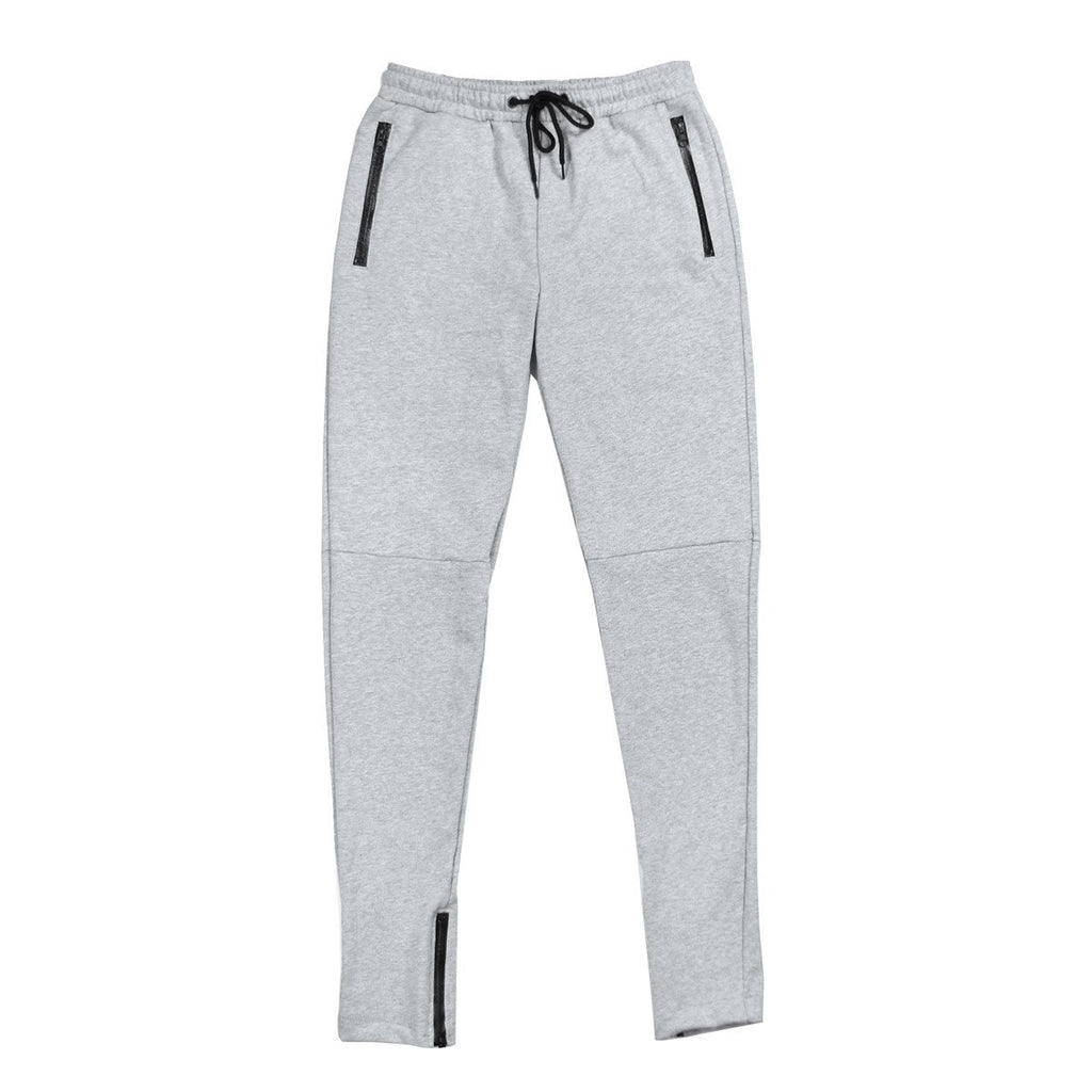 French Terry Trackers - Heather Grey