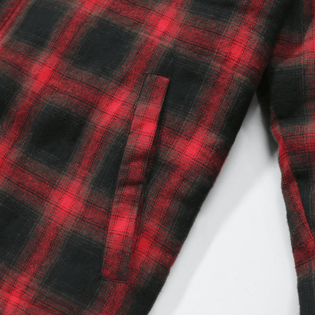 Babylon Flannel Jacket - Red
