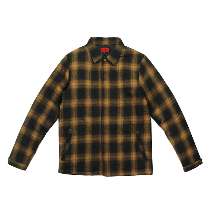 Babylon Flannel Jacket - Brown