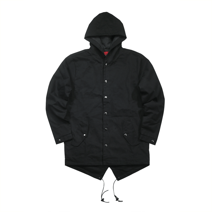 Pieta Twill Fishtail Jacket - Black (02.11.20 RELEASE)