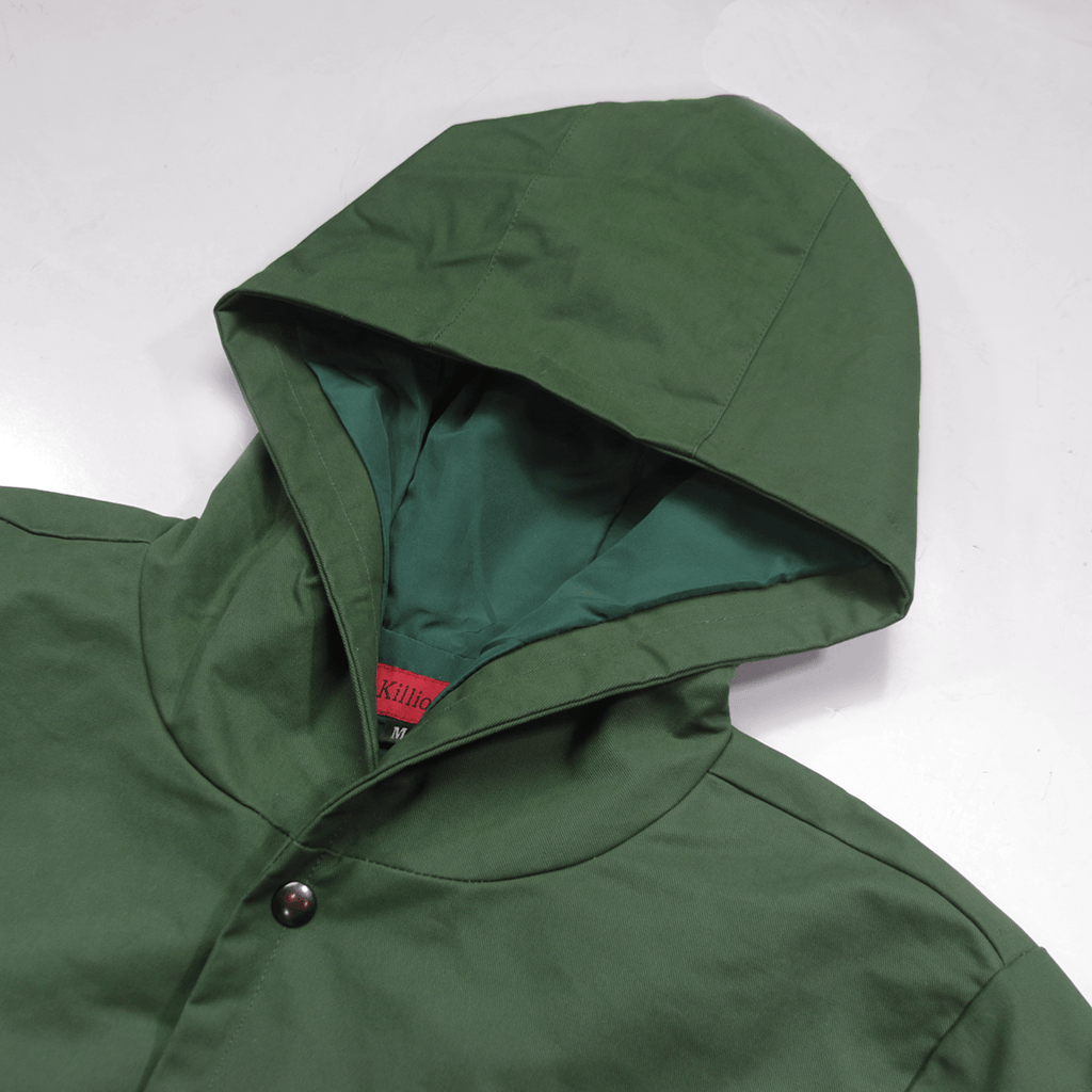Pieta Twill Fishtail Jacket - Olive (02.11.20 RELEASE)