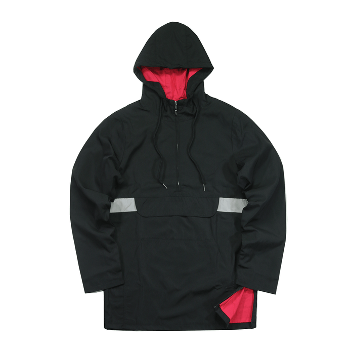 Easton Windbreaker Anorak - Black (02.18.20 RELEASE)