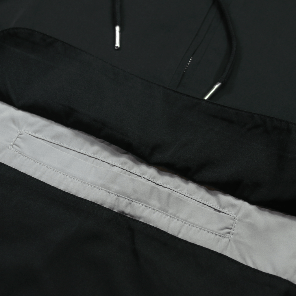 Easton Windbreaker Anorak - Black (11.12.20 Release)