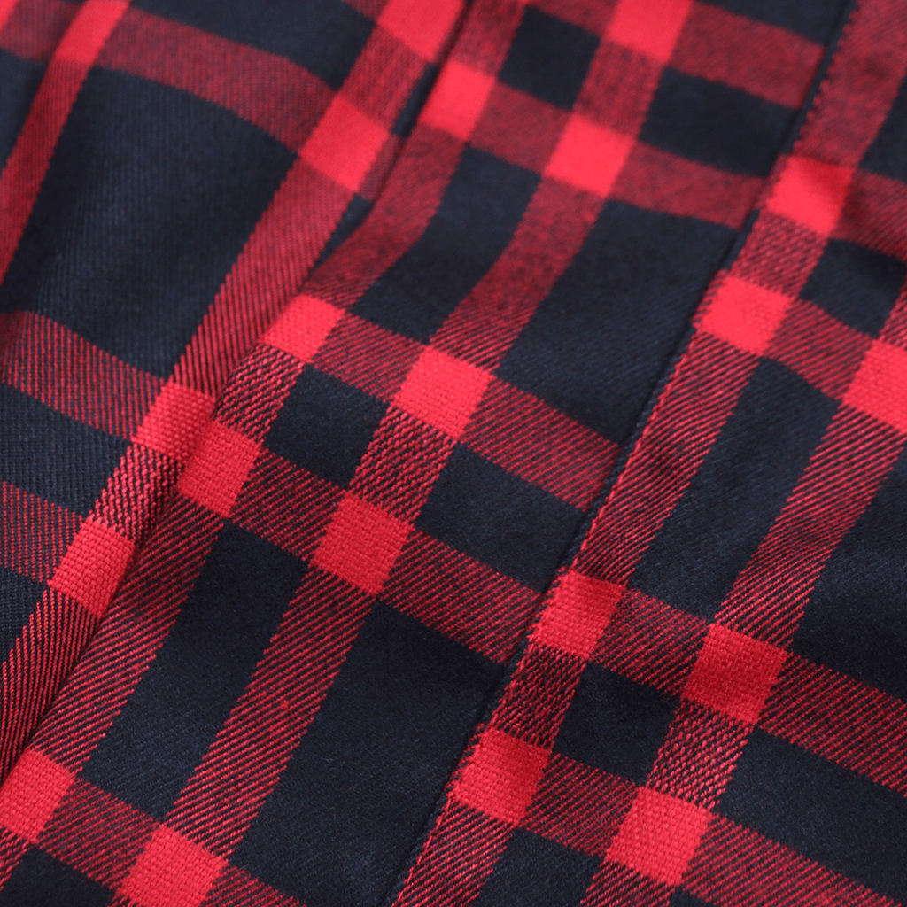 Modern Kimono Flannel - Red/Navy (02.18.20 RELEASE)